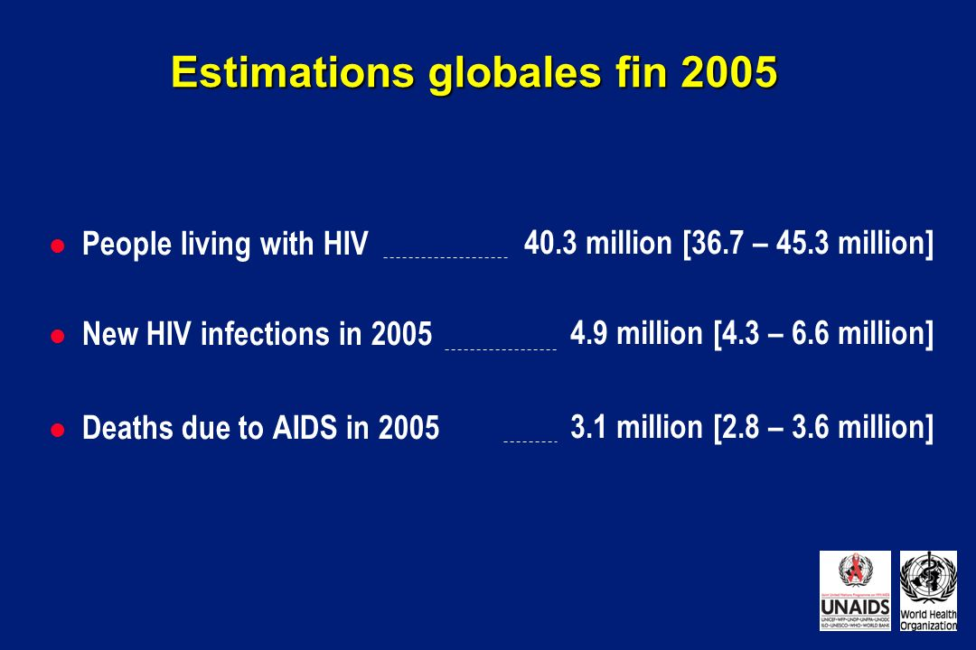 Estimations globales fin 2005