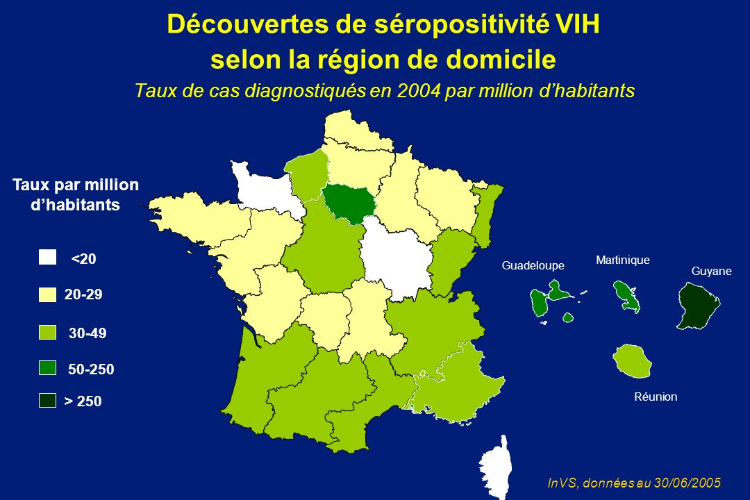 Taux par million d'habitants