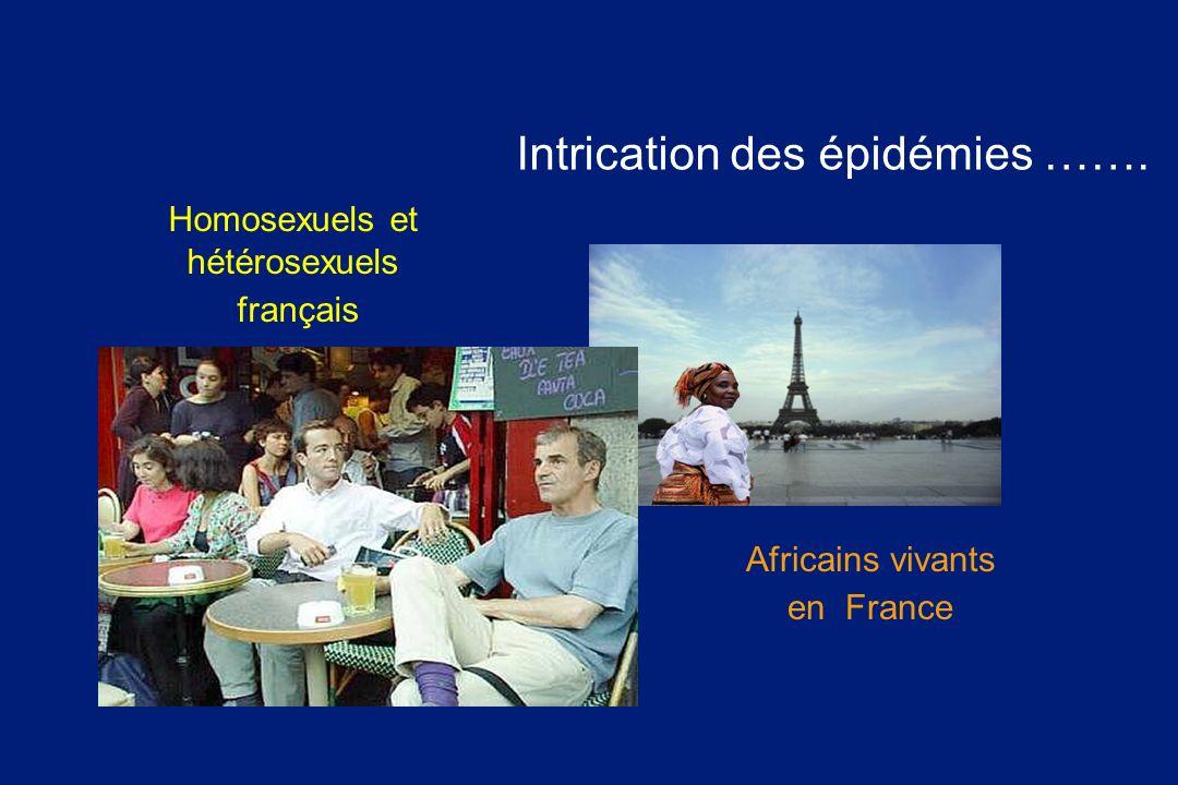 Intrication des épidémies …….