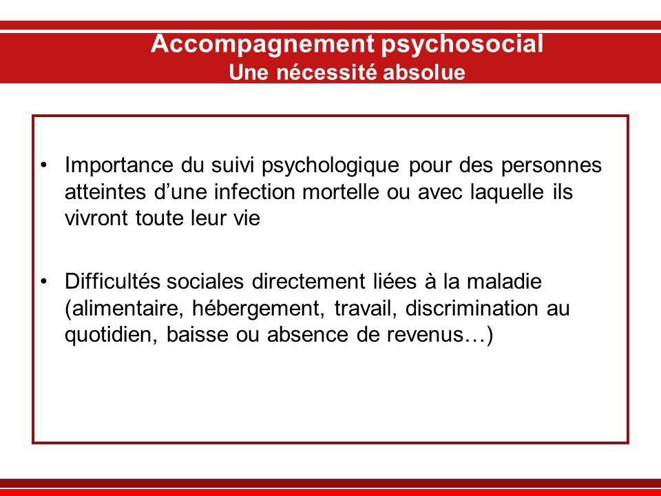 Accompagnement psychosocial Une nécessité absolue