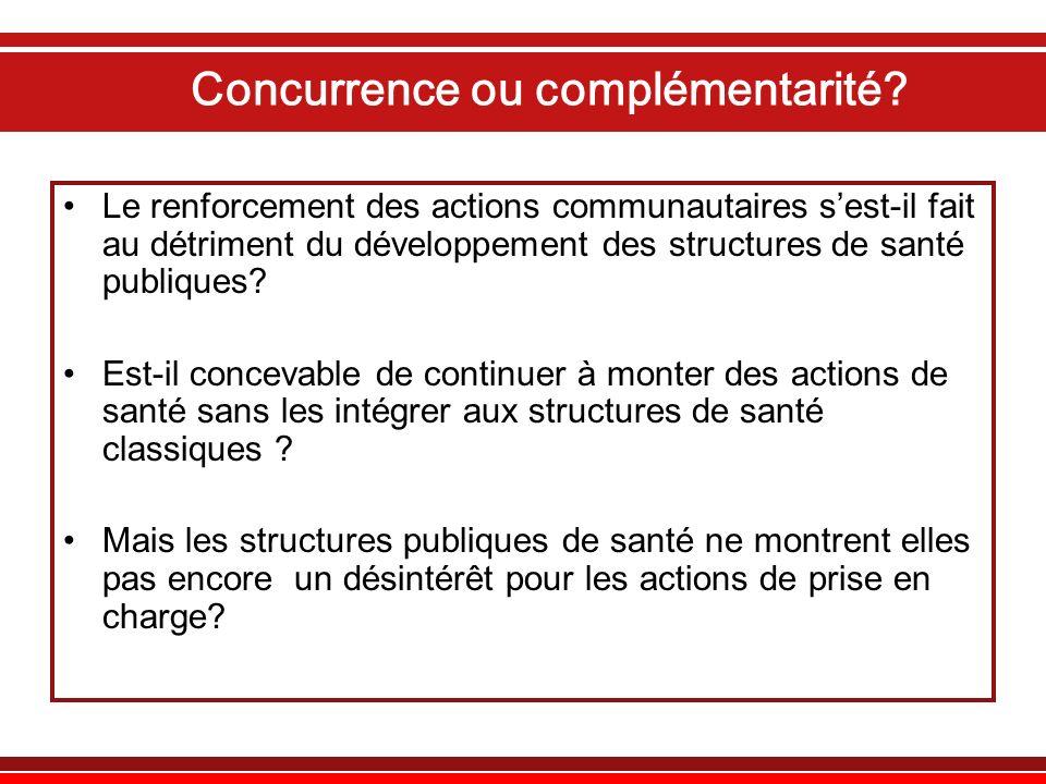 Concurrence ou complémentarité