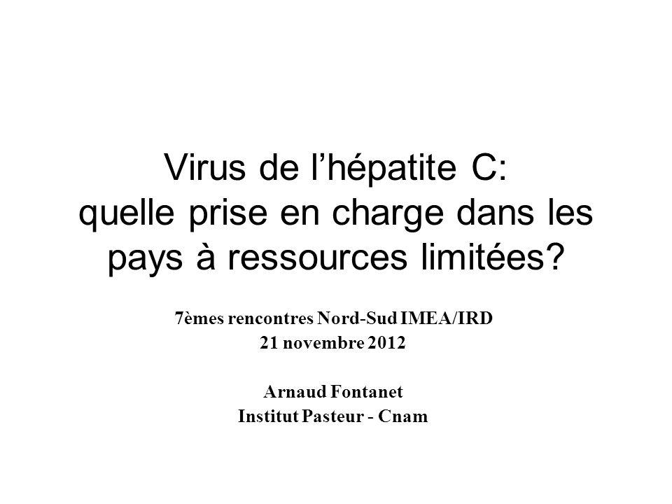 7èmes rencontres Nord-Sud IMEA/IRD Institut Pasteur - Cnam