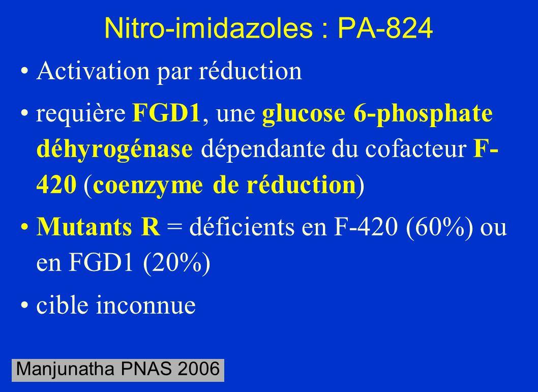 Nitro-imidazoles : PA-824