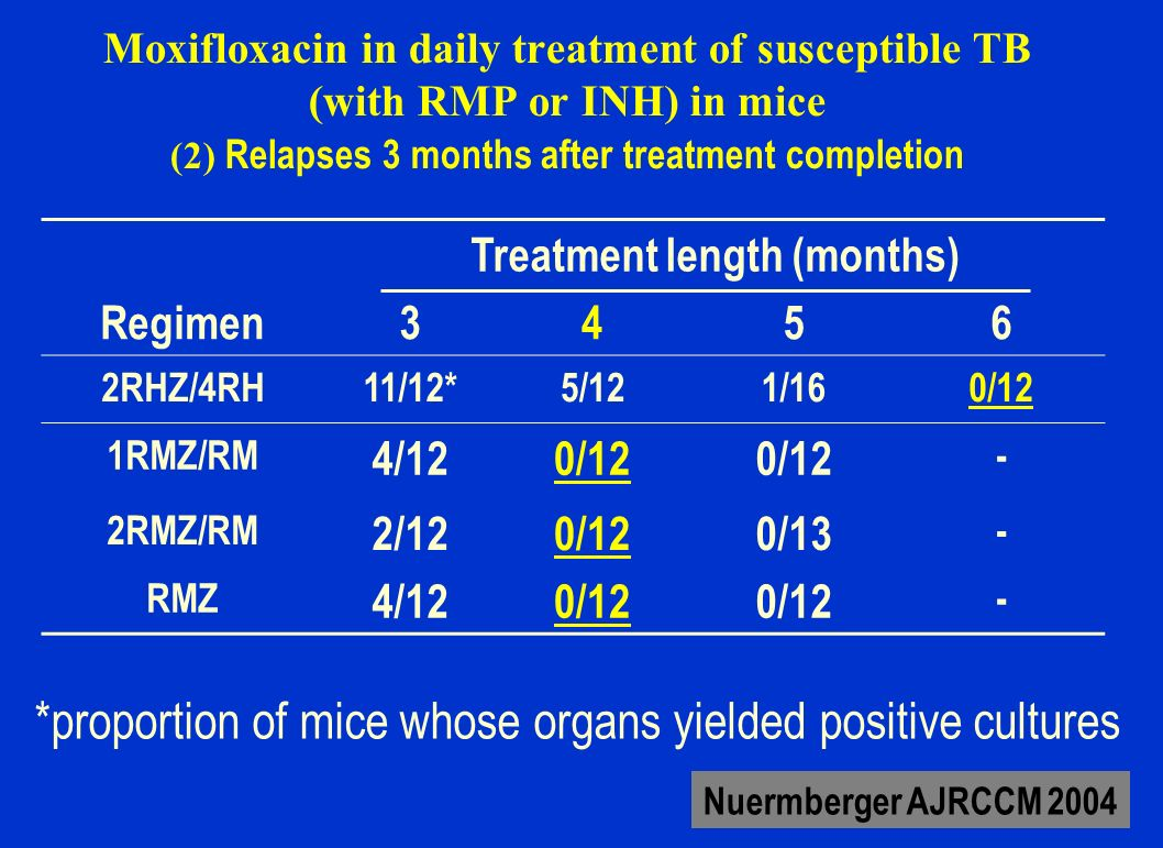Treatment length (months)