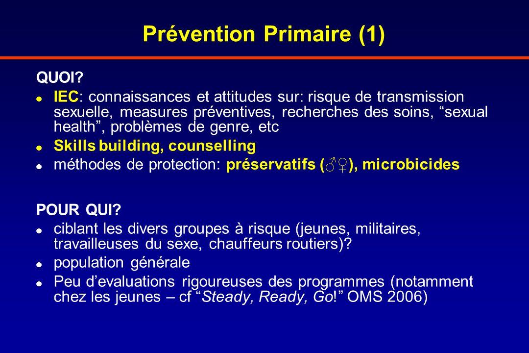 Prévention Primaire (1)