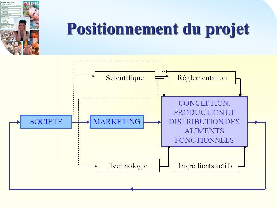 Positionnement du projet