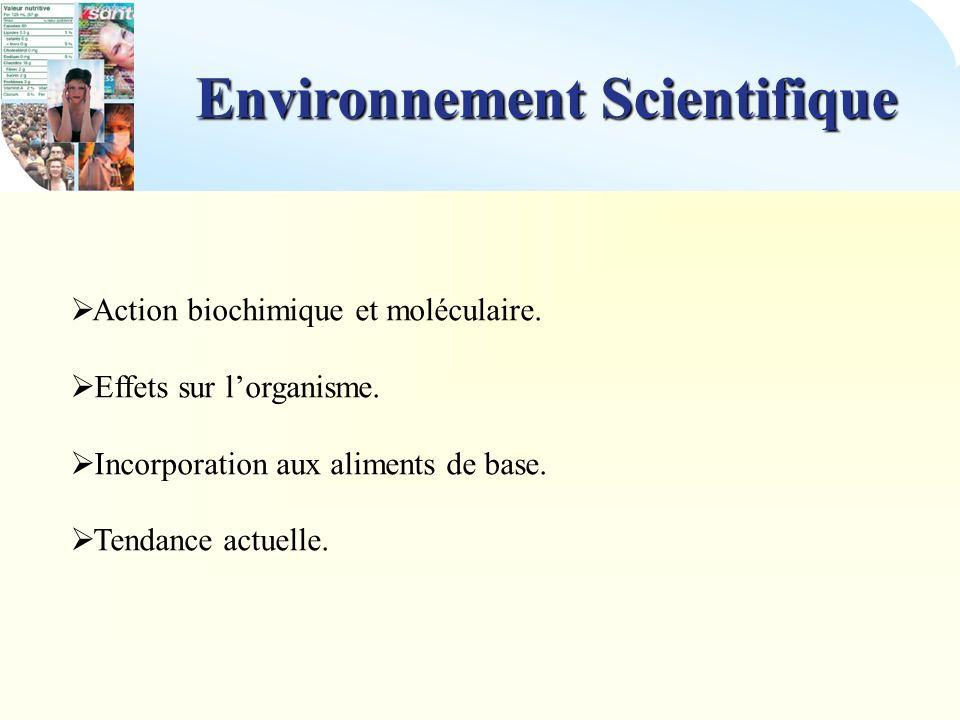 Environnement Scientifique
