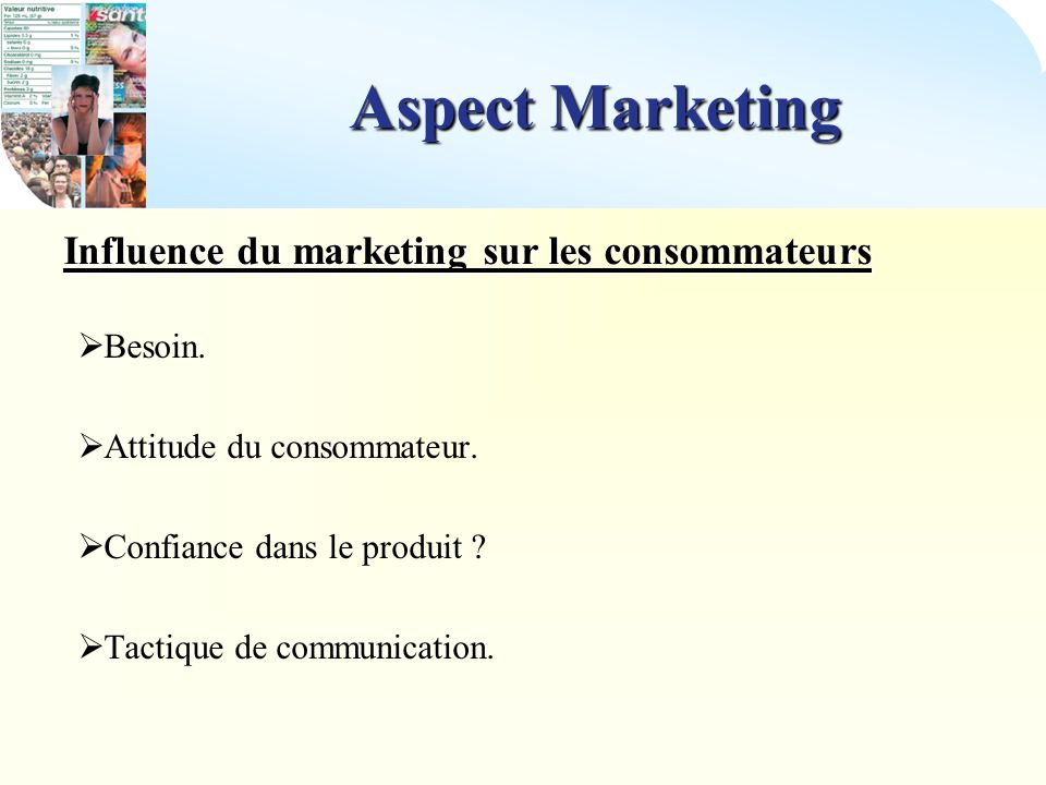 Influence du marketing sur les consommateurs
