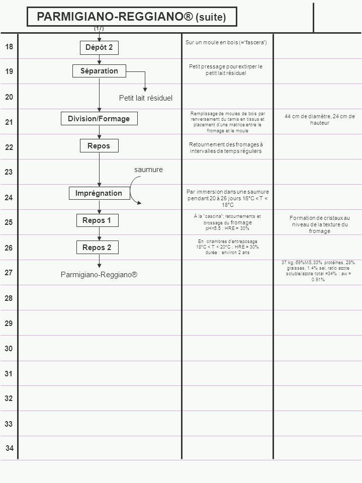 PARMIGIANO-REGGIANO® (suite)