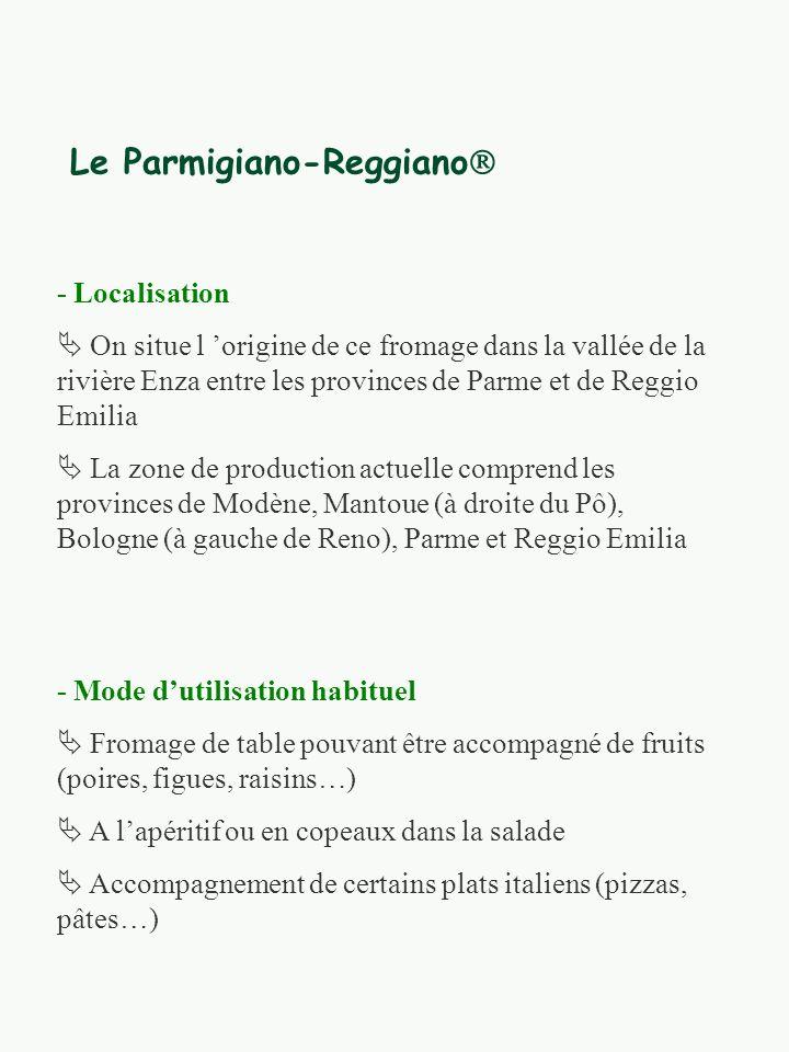 Le Parmigiano-Reggiano