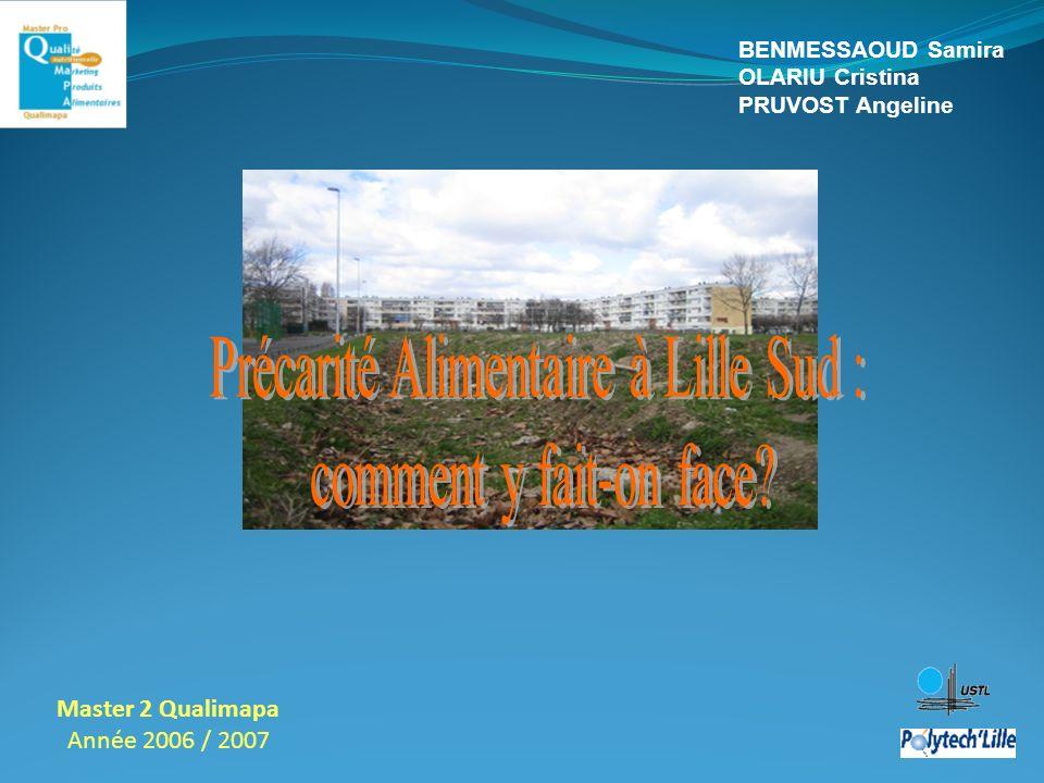 Précarité Alimentaire à Lille Sud :
