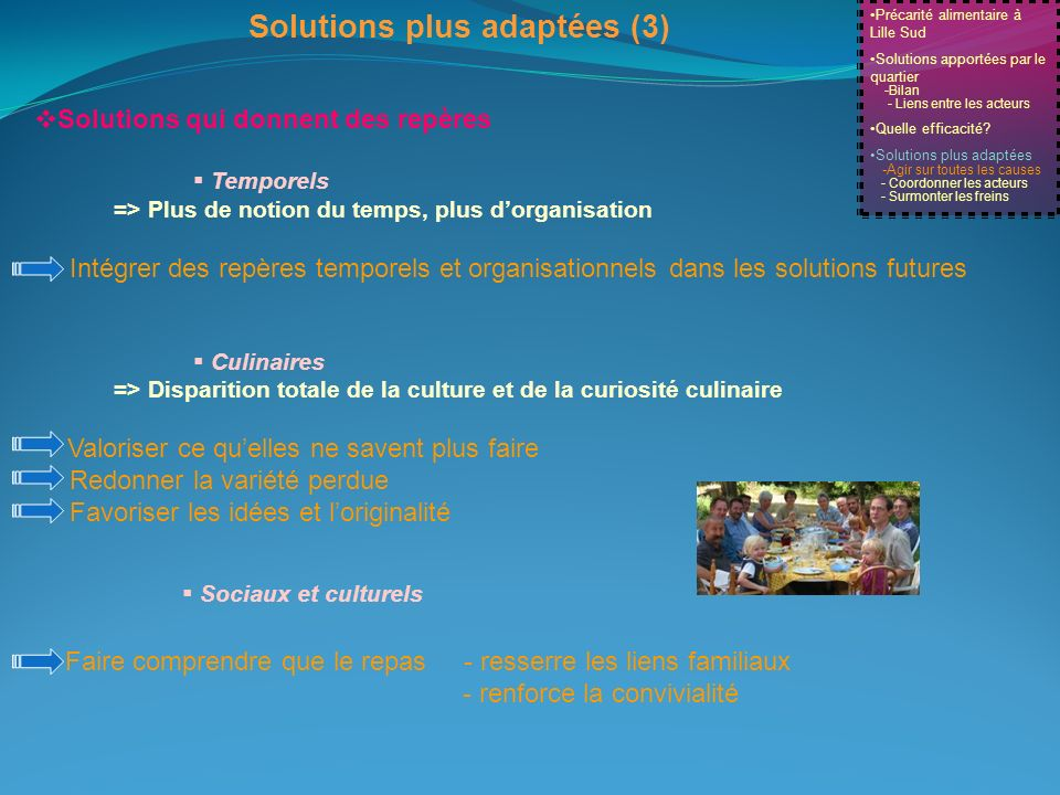 Solutions plus adaptées (3)