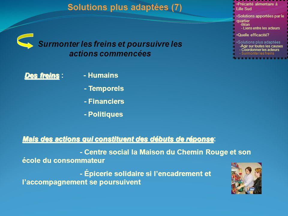 Solutions plus adaptées (7)