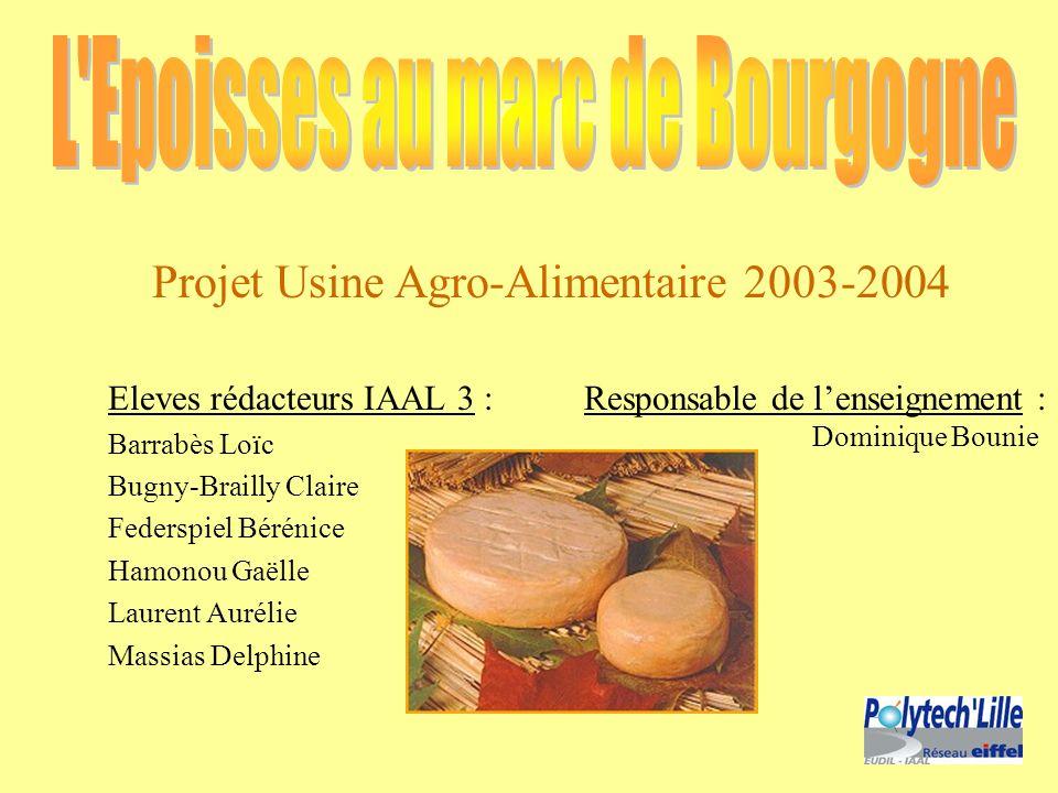 L Epoisses au marc de Bourgogne