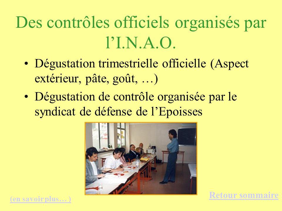 Des contrôles officiels organisés par l'I.N.A.O.