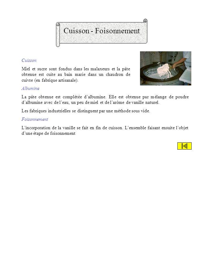 Cuisson - Foisonnement