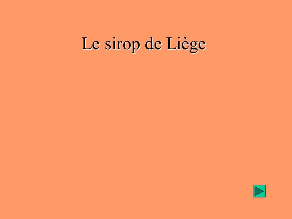 Le sirop de Liège