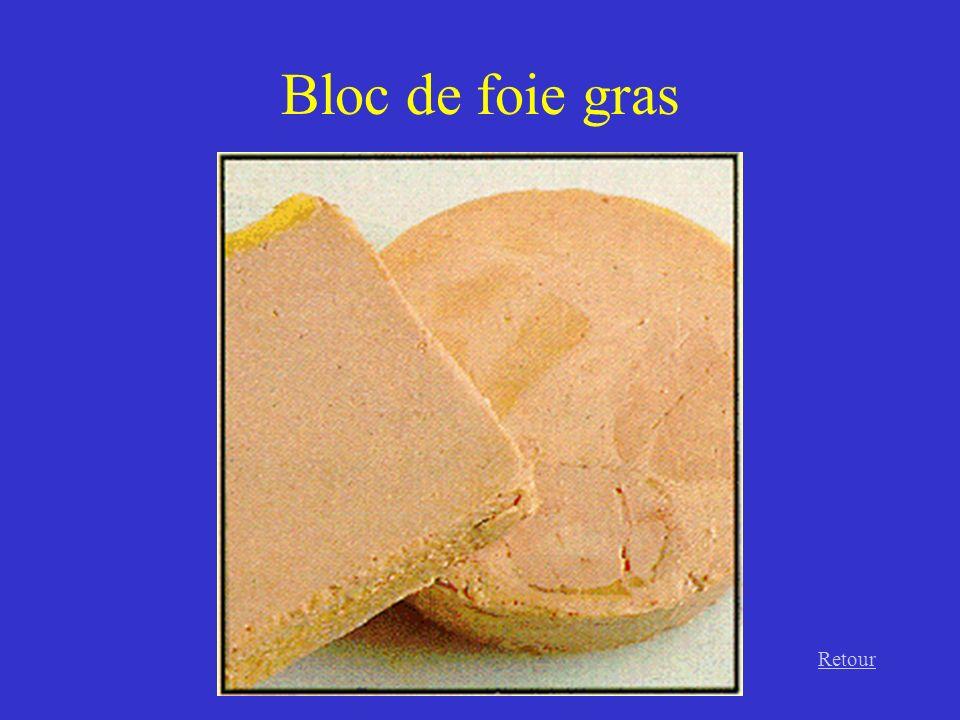 Bloc de foie gras Retour
