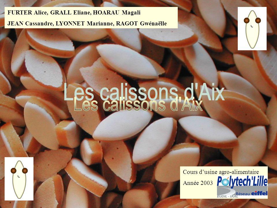 Les calissons d Aix FURTER Alice, GRALL Eliane, HOARAU Magali