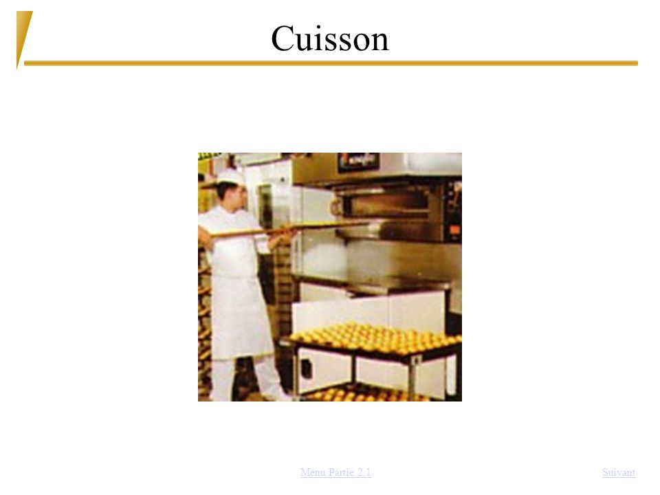 Cuisson Menu Partie 2.1 Suivant