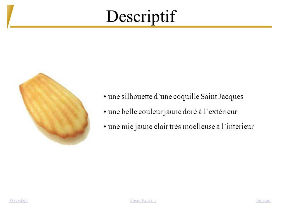 Descriptif une silhouette d'une coquille Saint Jacques