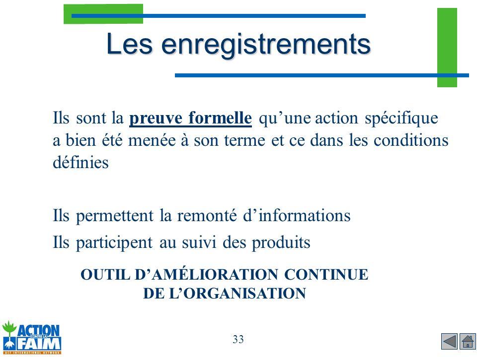 OUTIL D'AMÉLIORATION CONTINUE DE L'ORGANISATION