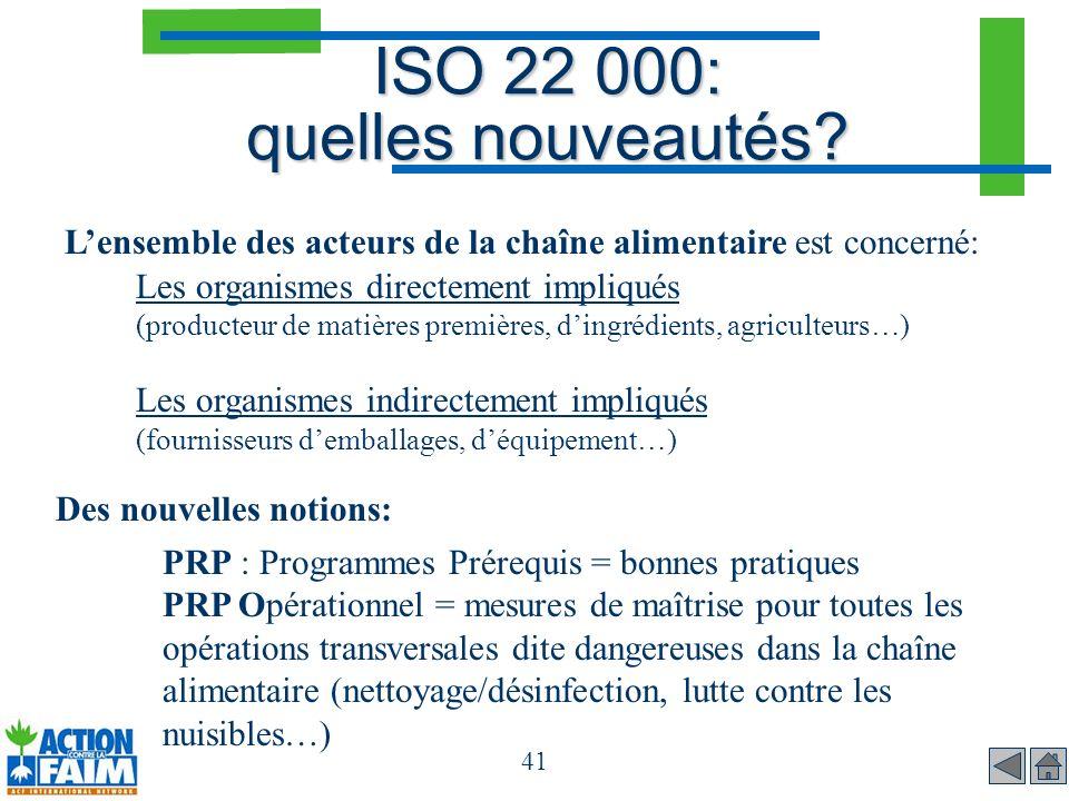 ISO 22 000: quelles nouveautés