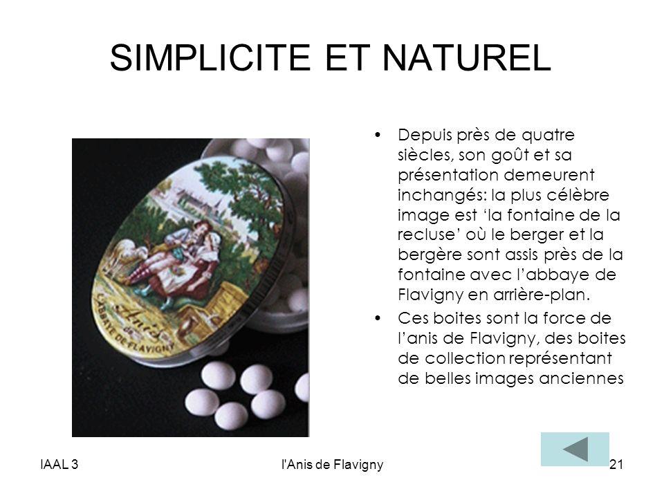 SIMPLICITE ET NATUREL