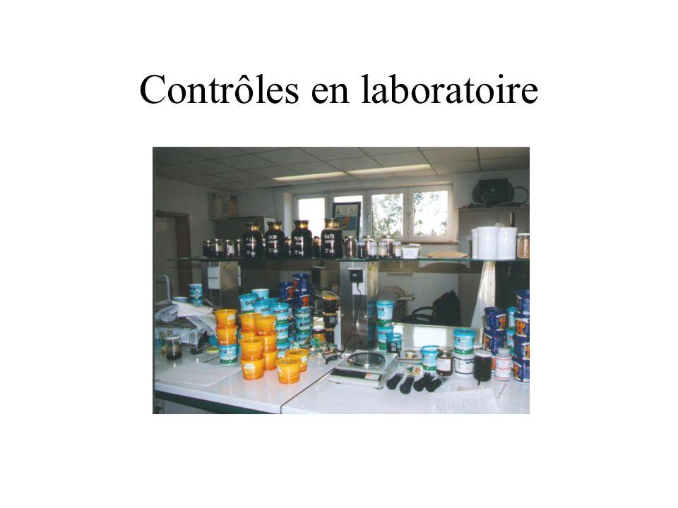 Contrôles en laboratoire