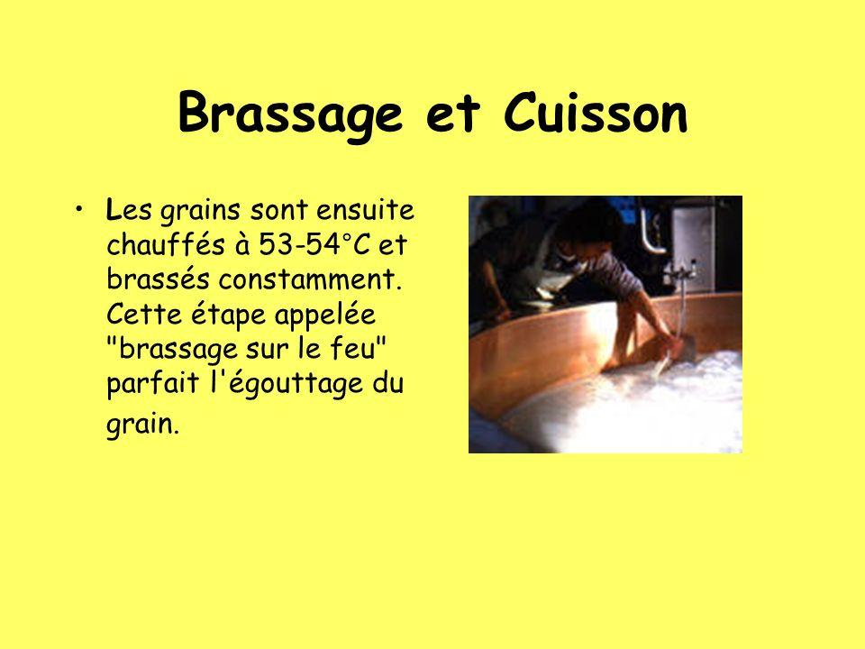 Brassage et Cuisson