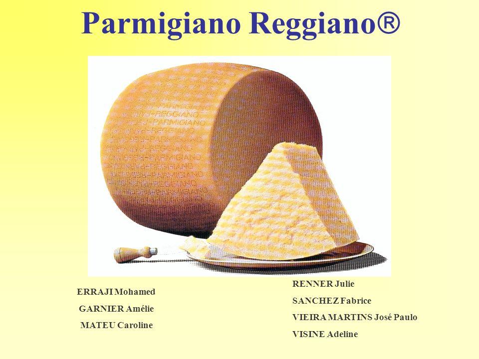 Parmigiano Reggiano RENNER Julie SANCHEZ Fabrice ERRAJI Mohamed