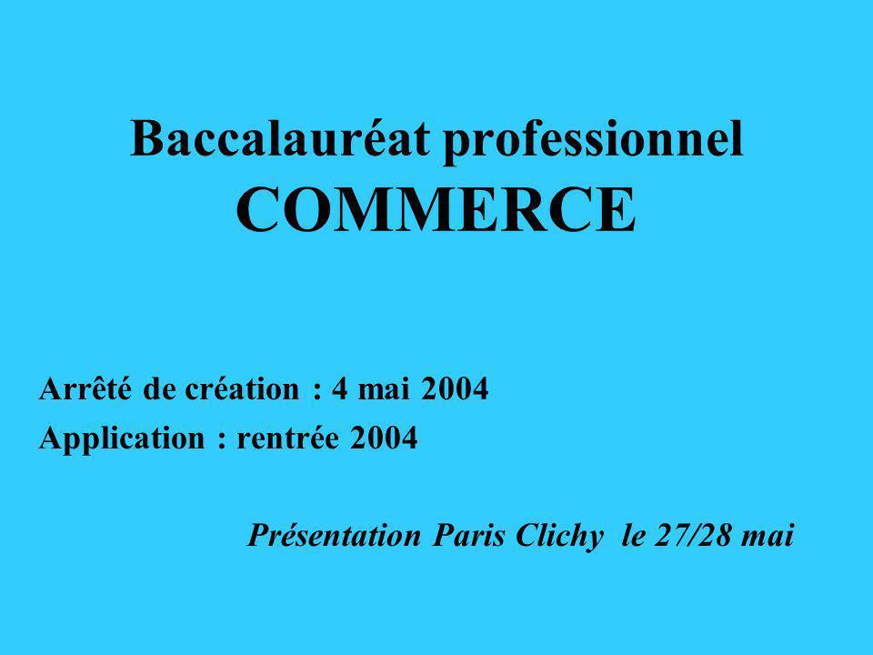 Baccalauréat professionnel COMMERCE