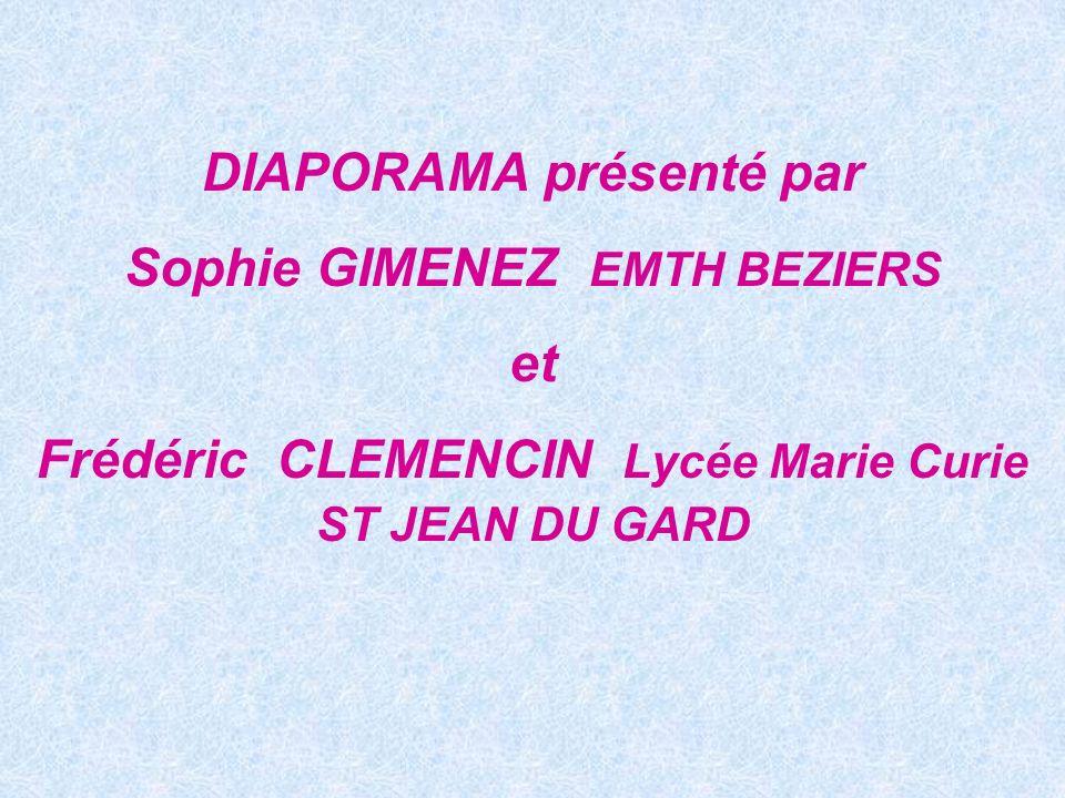 DIAPORAMA présenté par Sophie GIMENEZ EMTH BEZIERS et