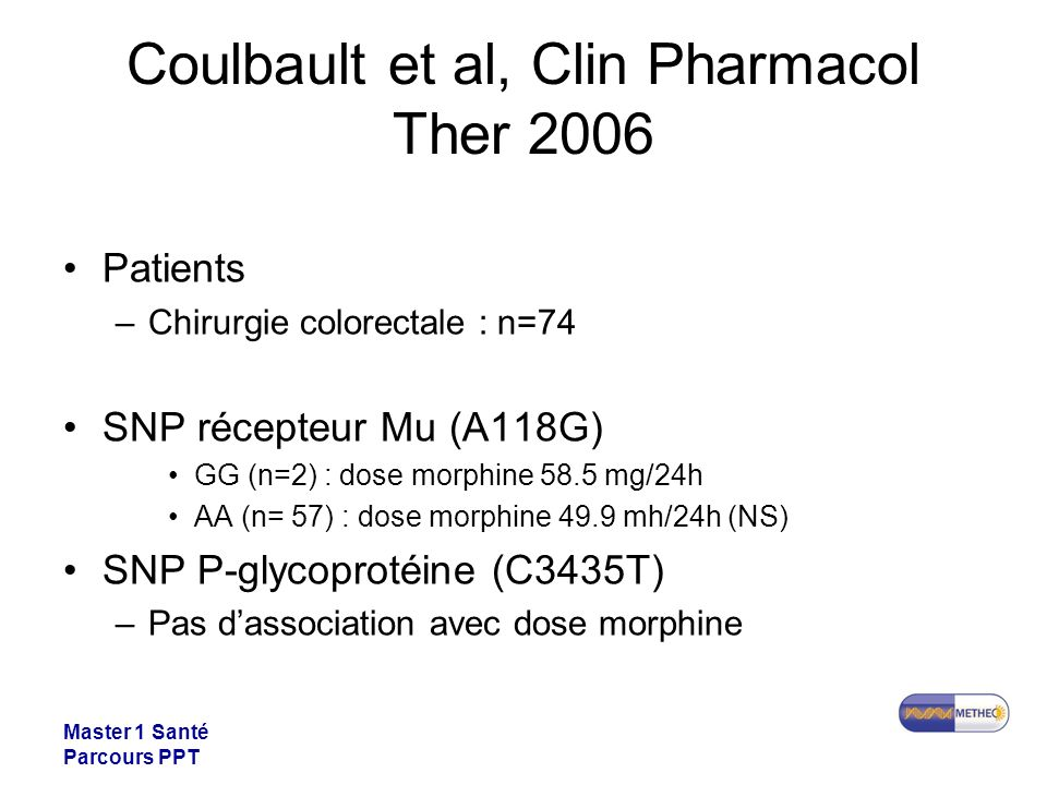 Coulbault et al, Clin Pharmacol Ther 2006