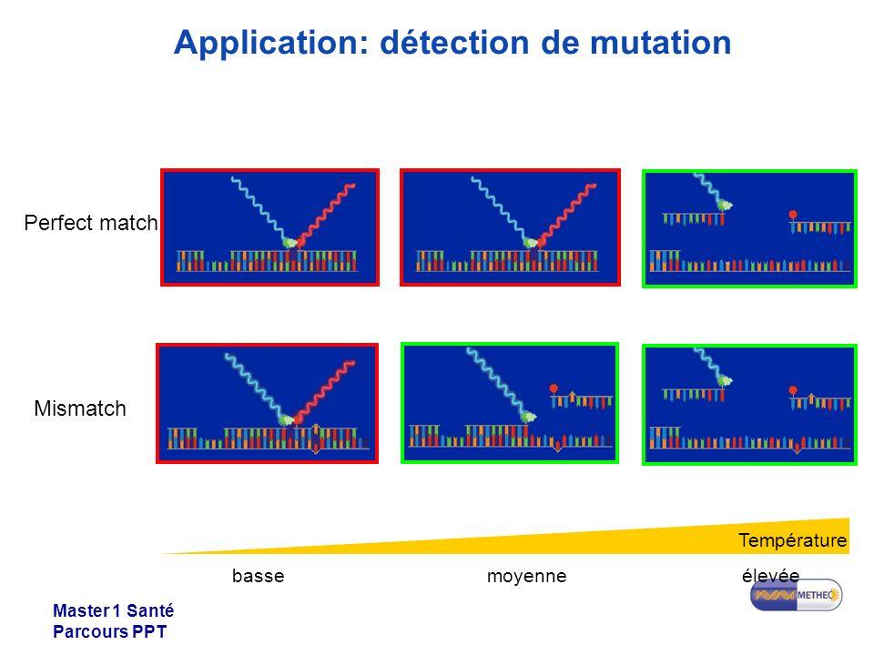 Application: détection de mutation