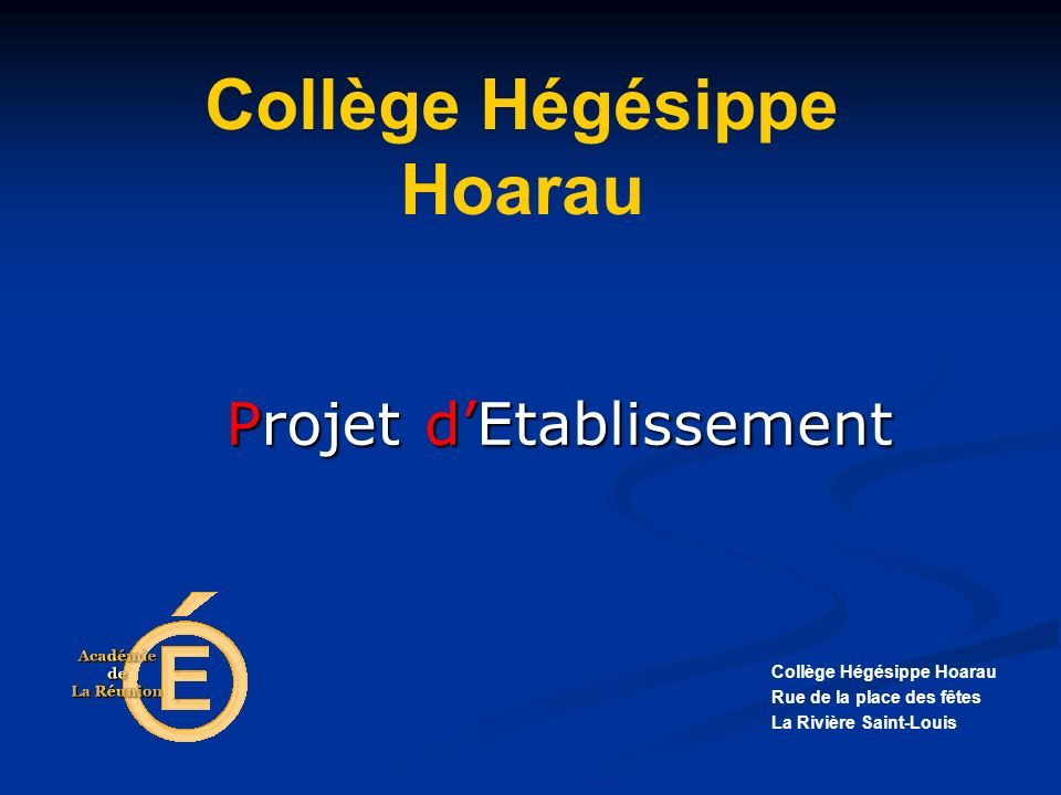Collège Hégésippe Hoarau