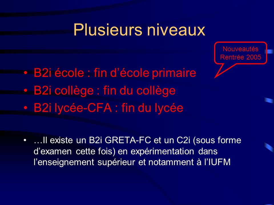 Telecharger Le Logiciel Cap B2i Free Download
