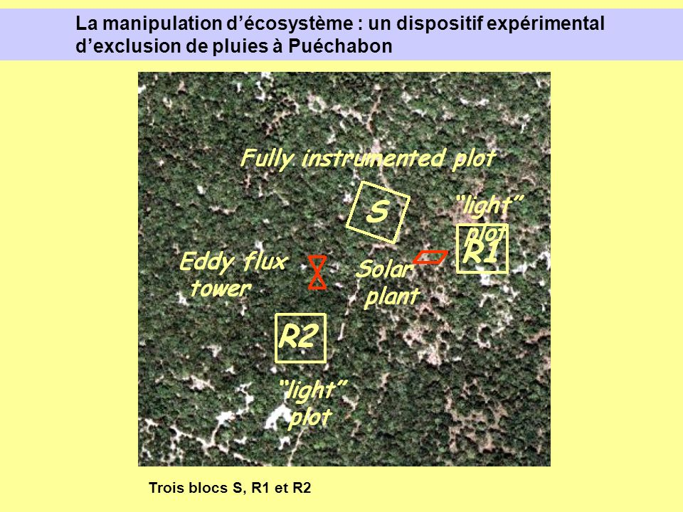 La manipulation d'écosystème : un dispositif expérimental