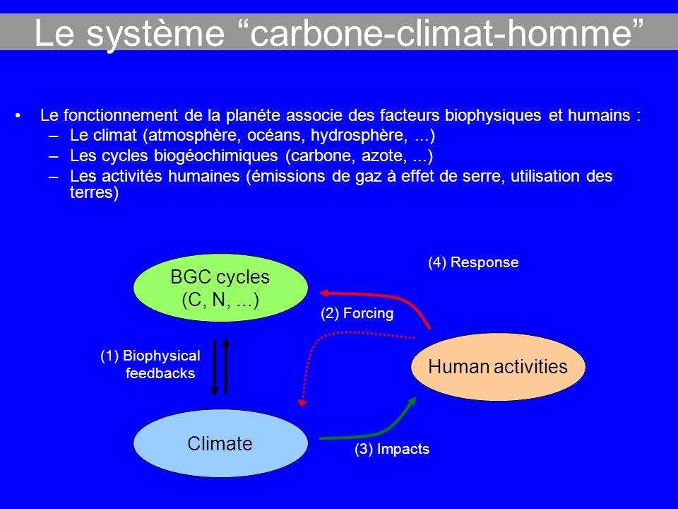 Le système carbone-climat-homme