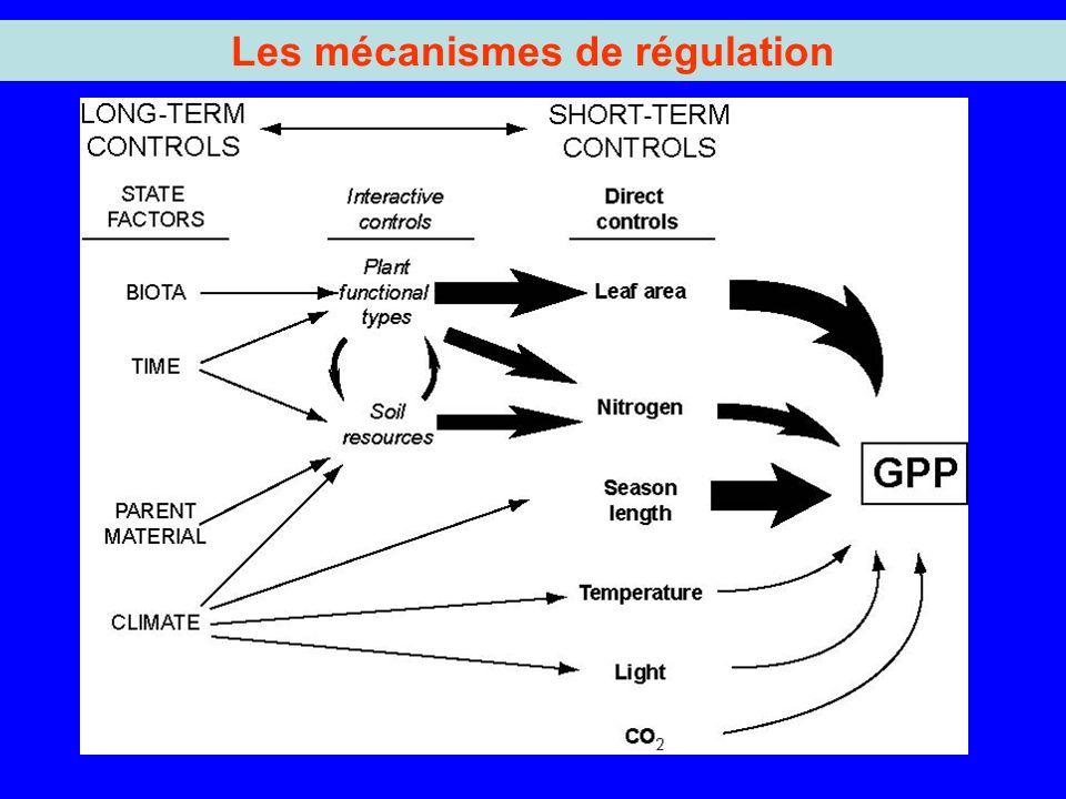 Les mécanismes de régulation