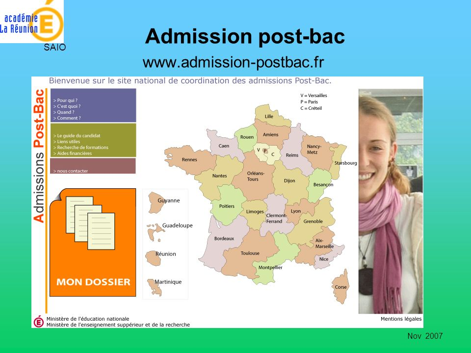 Admission post-bac www.admission-postbac.fr