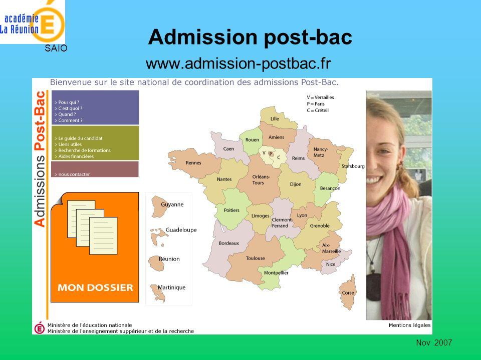 Admission post-bac www.admission-postbac.fr