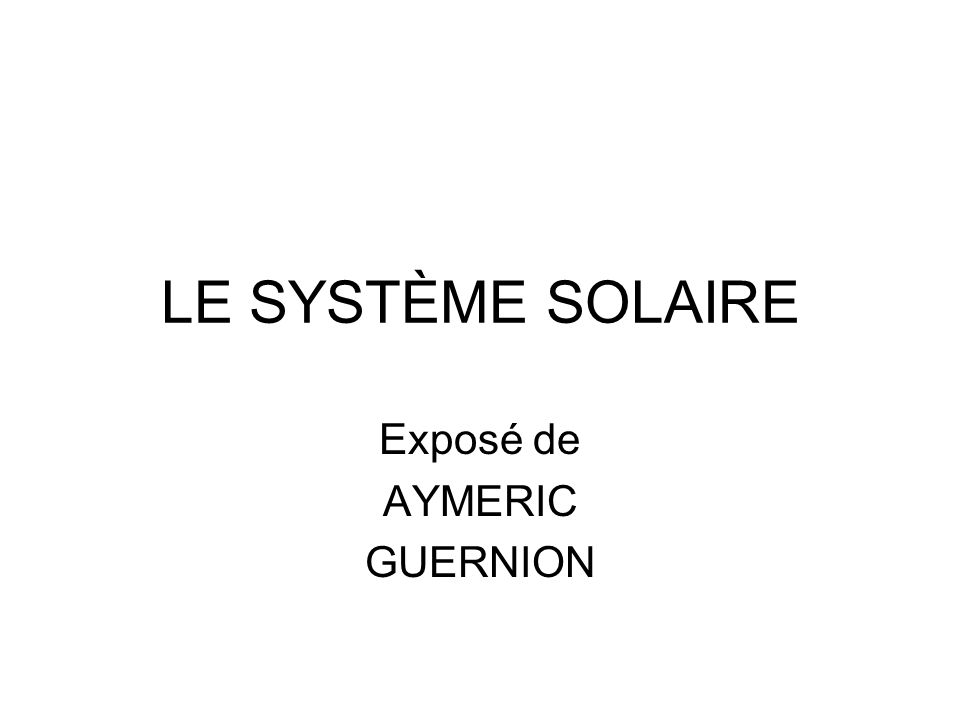 Souvent Exposé de AYMERIC GUERNION - ppt video online télécharger RG48