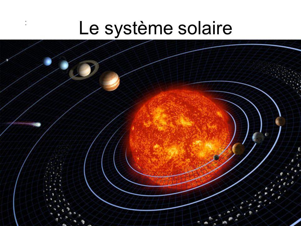 Le système solaire :