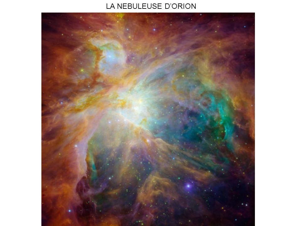 LA NEBULEUSE D'ORION