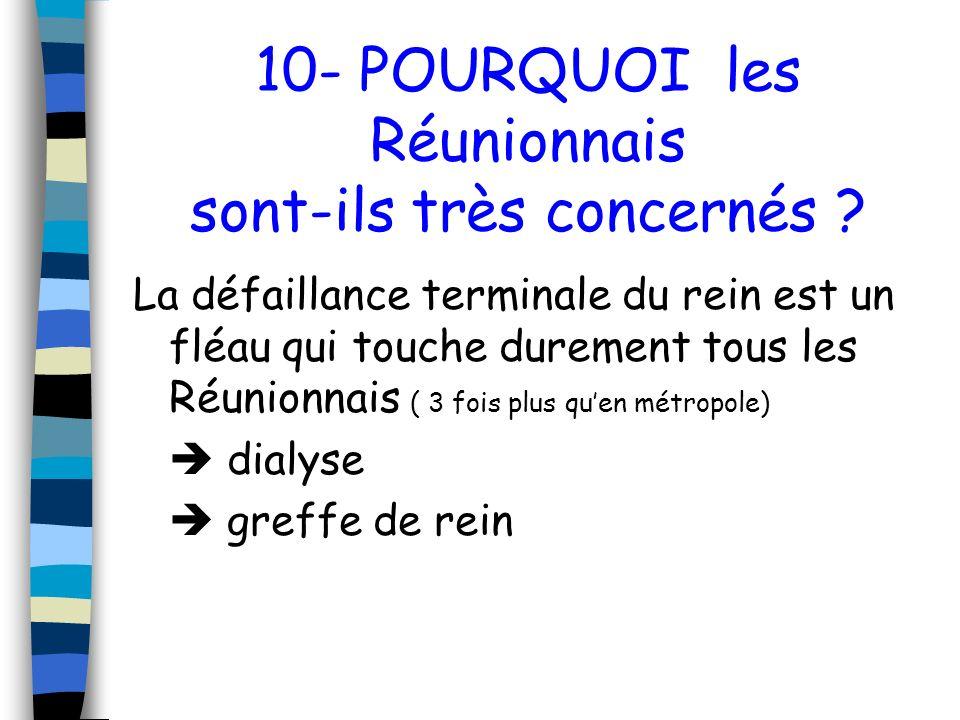 10- POURQUOI les Réunionnais sont-ils très concernés