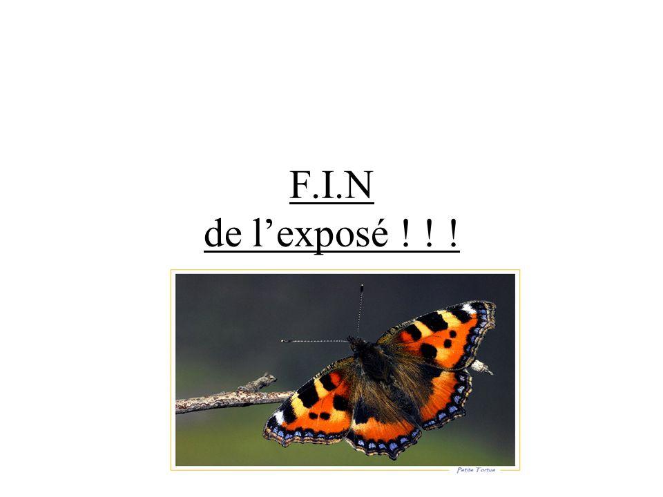 F.I.N de l'exposé ! ! !