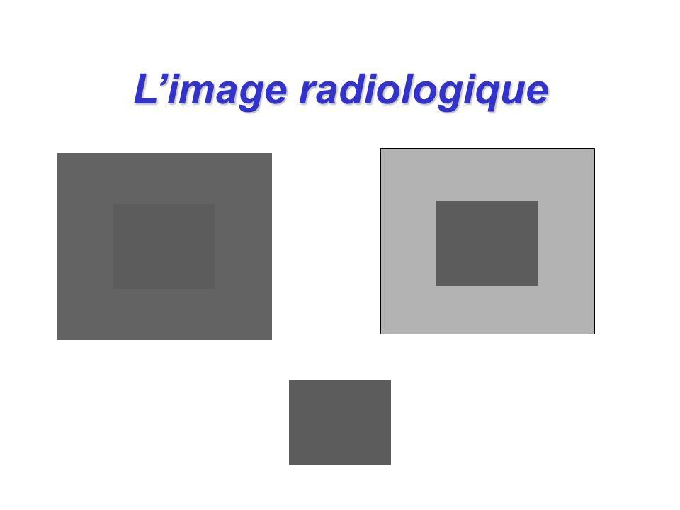 L'image radiologique