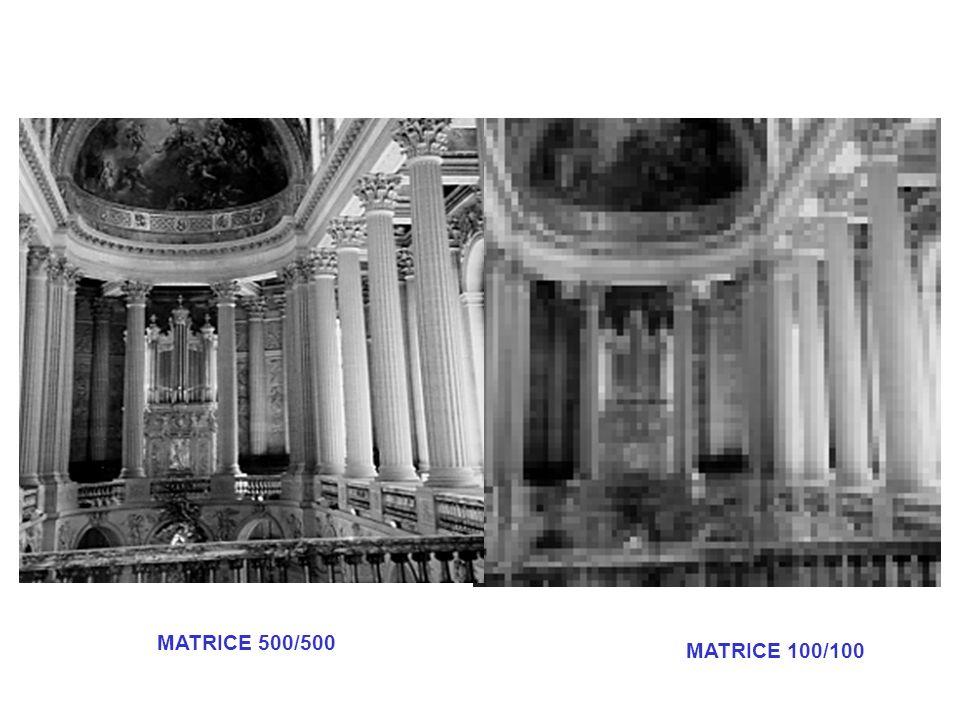 MATRICE 500/500 MATRICE 100/100