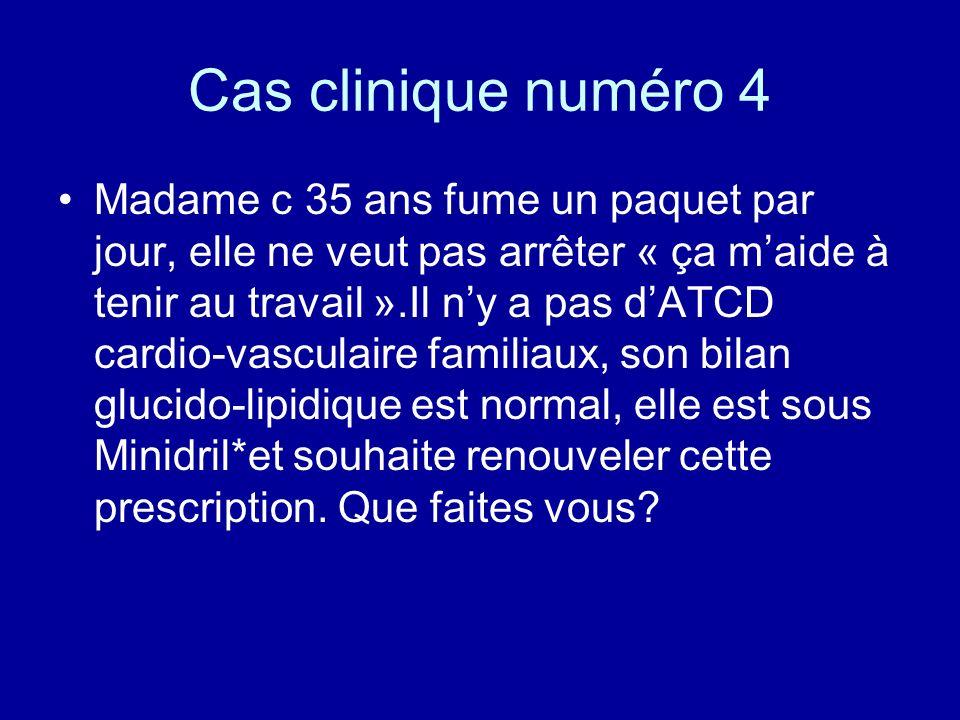 Cas clinique numéro 4